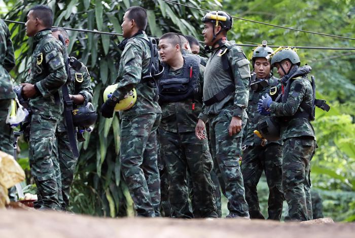 Thailandia, trovato cunicolo a 200 metri dalla grotta dei ragazzi
