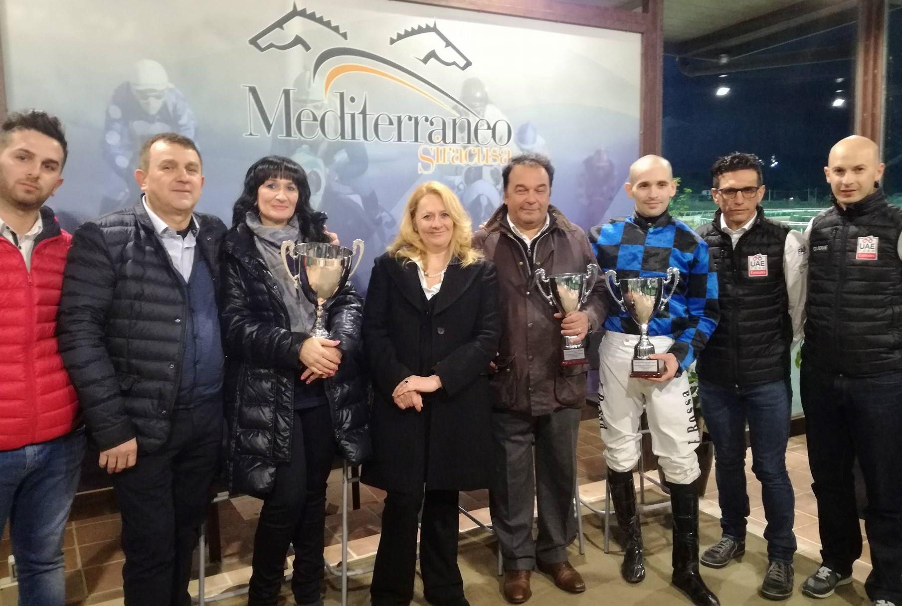"""Galoppo a Siracusa, Alca Torre di Canicarao vince il premio """"Coppa d'oro"""""""