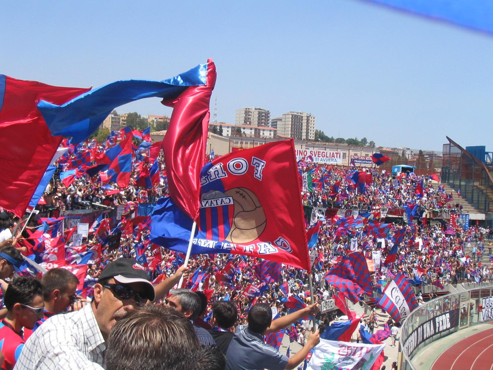 Processo Catania Calcio, tifosi e Figc parti civili