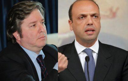 Alfano e Centristi in conferenza stampa a Palermo per sostegno a Micari