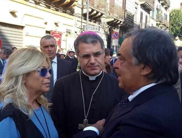 Palermo, Del Sette all'anniversario per Dalla Chiesa: