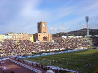 Stadio di Bologna blindato per Italia-Romania