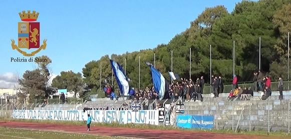 Incidenti durante la partita Ragusa-New Pozzallo, sette daspo a tifosi locali
