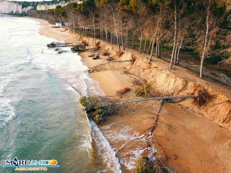 """Agrigento, Mareamico: """"La spiaggia Eraclea Minoa è sparita"""""""