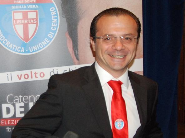 Il deputato De Luca (Udc) sabato interrogato dal gip di Messina