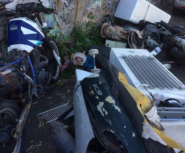 Catania, tonnellate di rifiuti in via Narciso: