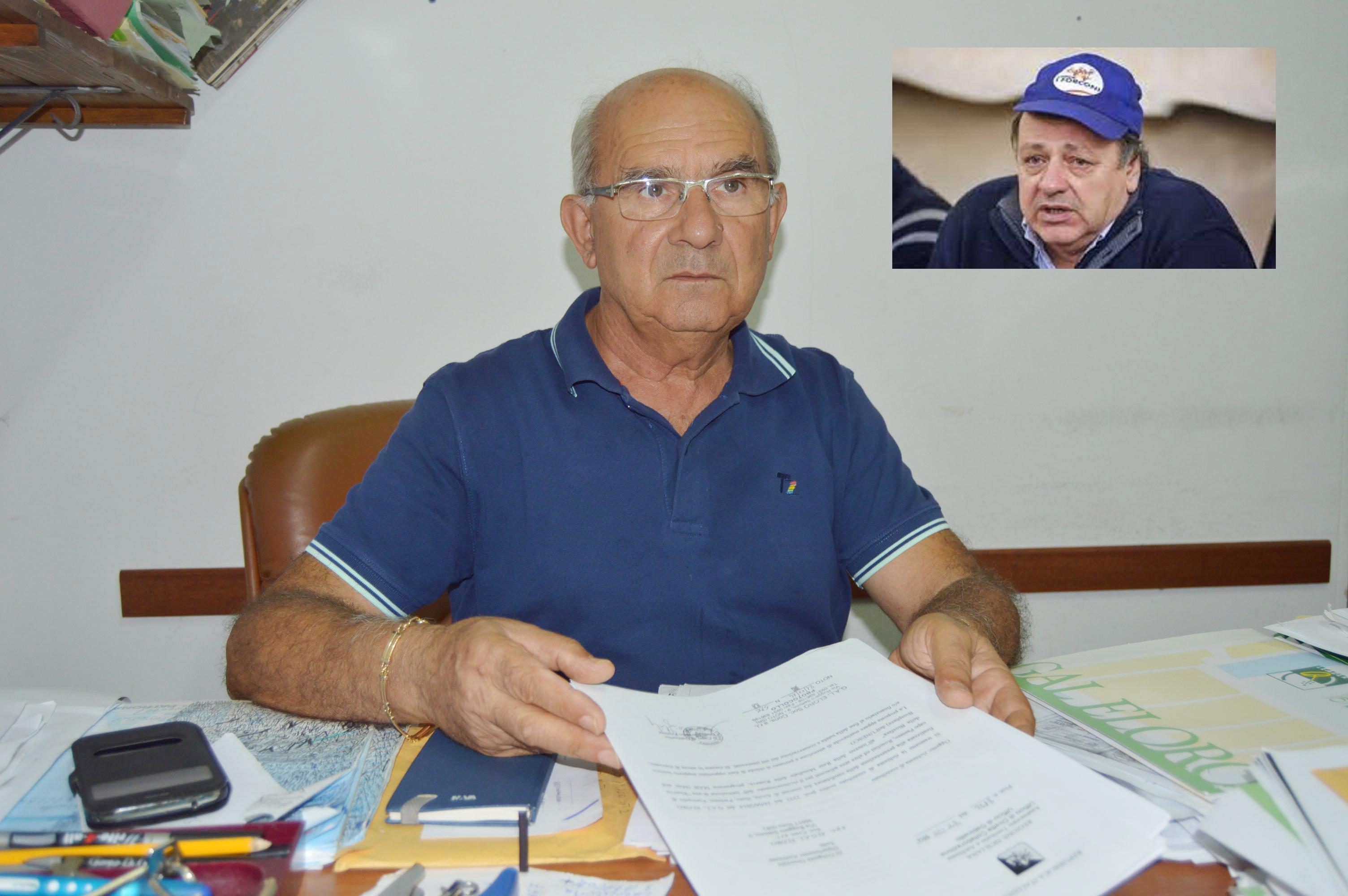 Autonomisti, comizio ad Avola del leader dei Forconi con Jano Dell'Albani
