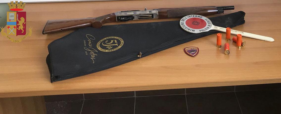 Detenzione illegale di un fucile, un arresto a Porto Empedocle