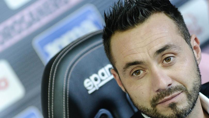 """De Zerbi: """"Con Traikovski e Quaison vedrete un altro Palermo"""""""