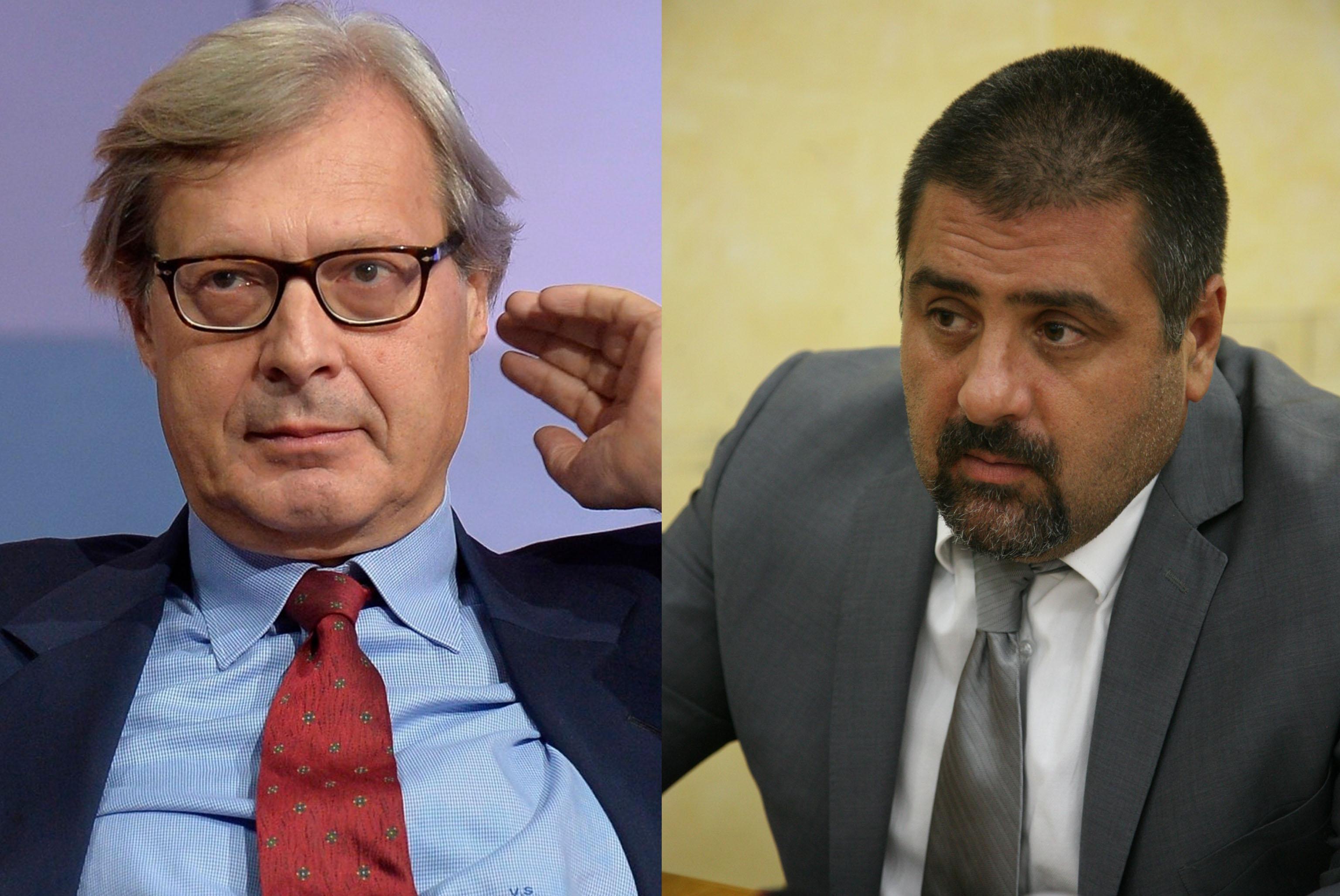 Diffamazione: Sgarbi condannato, 7mila euro a Cristiano Di Pietro