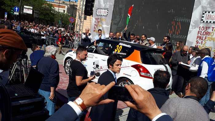 Palermo, il vice premier Di Maio dà lo start alla 103 esima  'Targa Florio'