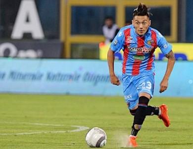 Il Catania vince il derby col Messina con una tripletta di Di Grazia