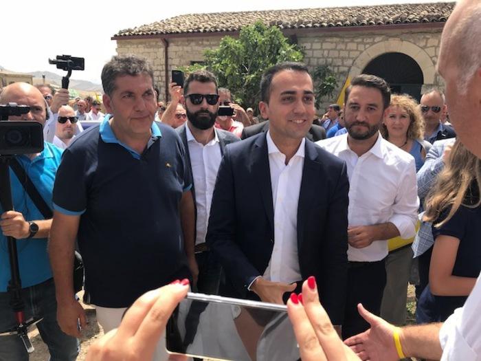 """Di Maio a Caltanissetta: """"L'agricoltura deve ripartire dalla Sicilia"""""""