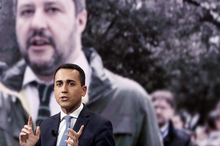Governo Di Maio a Salvini