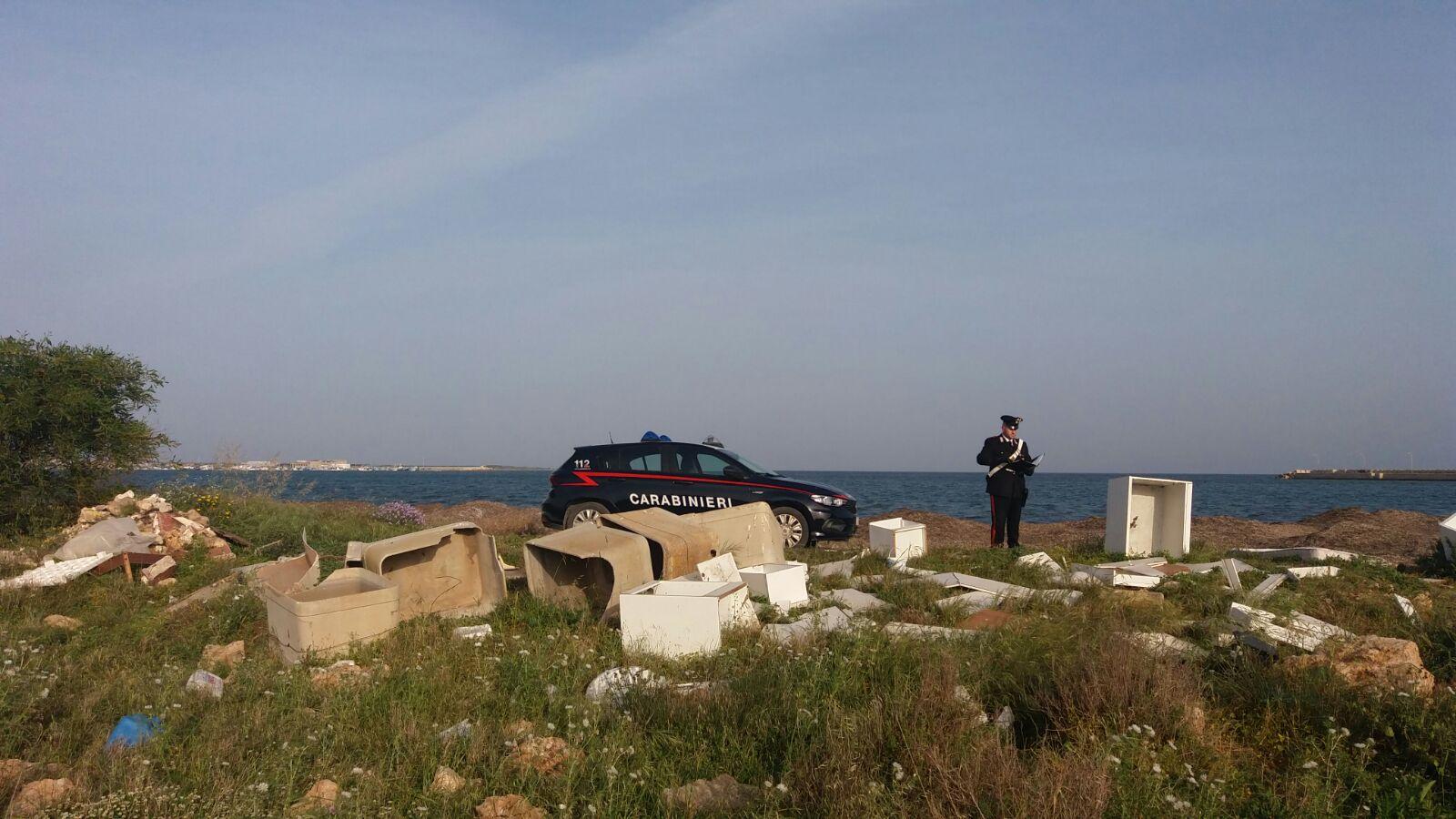 Discarica a cielo aperto sequestrata a Portopalo: 6 persone denunciate
