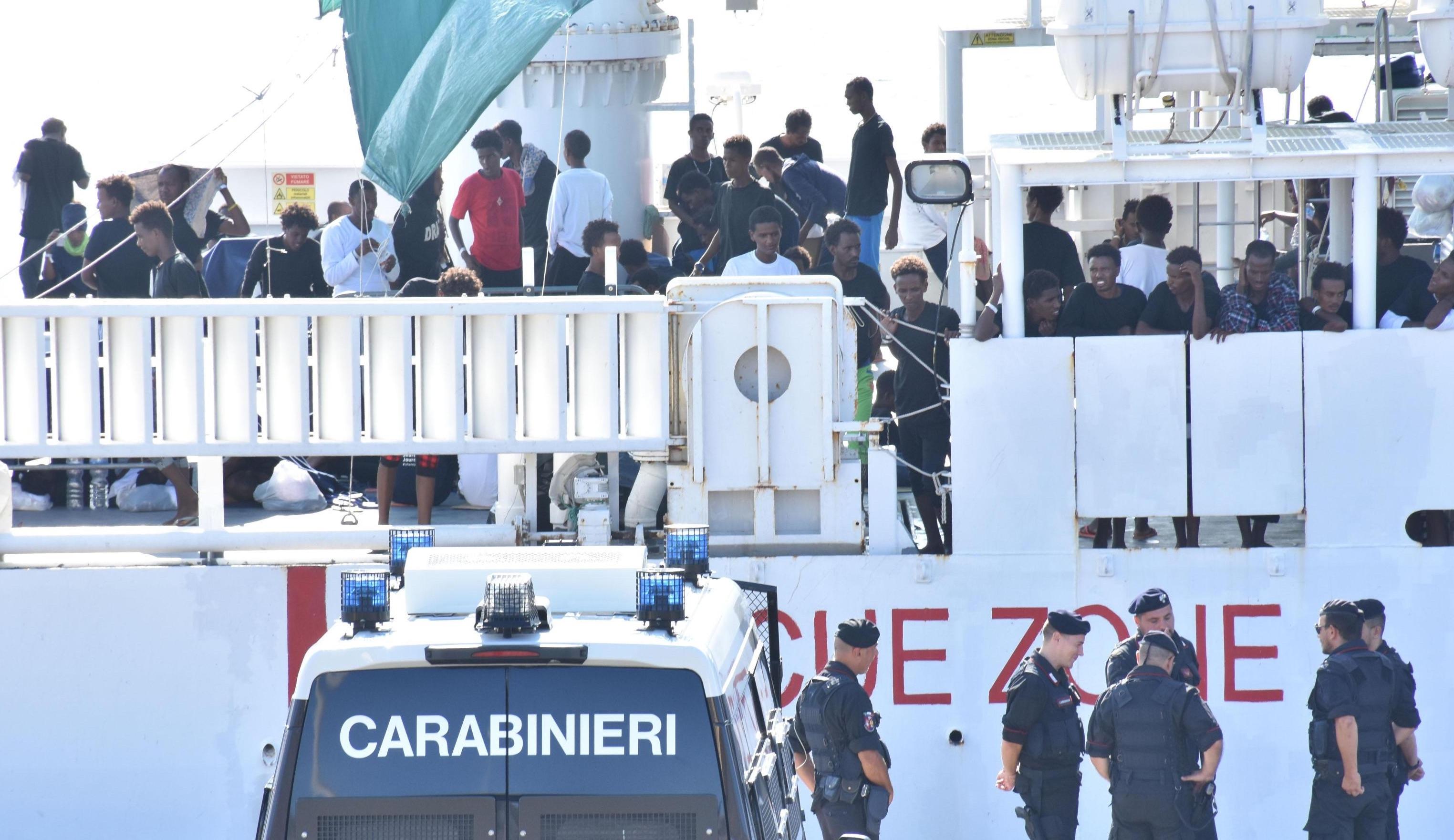 Diciotti: lungo ricovero per tre a Catania, confermati 2 casi di tubercolosi