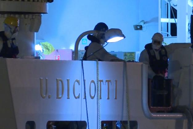 Nave Diciotti a Catania ma nessuno sbarco di migranti