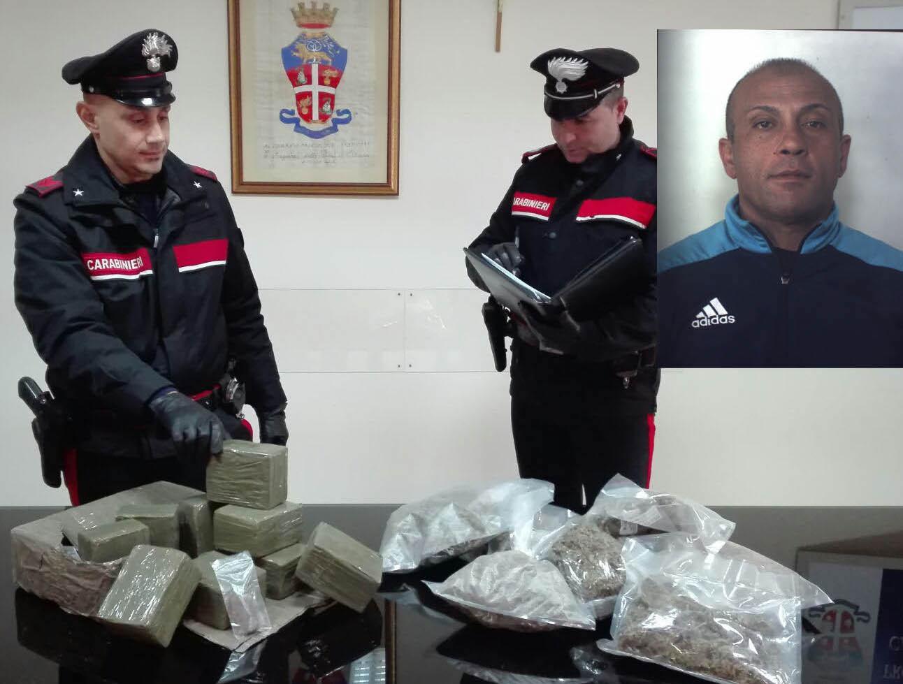 Siracusa, in casa nascondeva 11 chili di droga: finisce in carcere