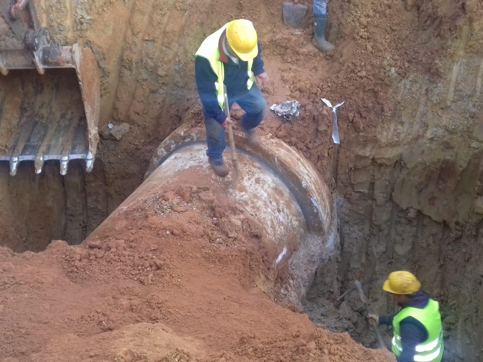 Finita l'emergenza idrica a Palermo, riparata la condotta del Poma