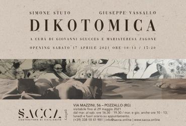 Pozzallo, preparativi per la mostra Dikotomica di Simone Stuto e Giuseppe Vassallo