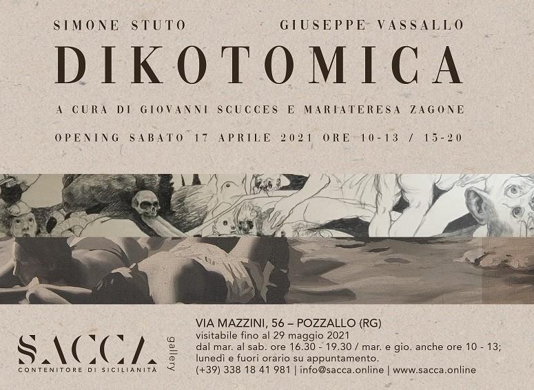 """Pozzallo, alla Galleria Sacca si inaugura sabato 17 la mostra """"Dikotomica"""""""