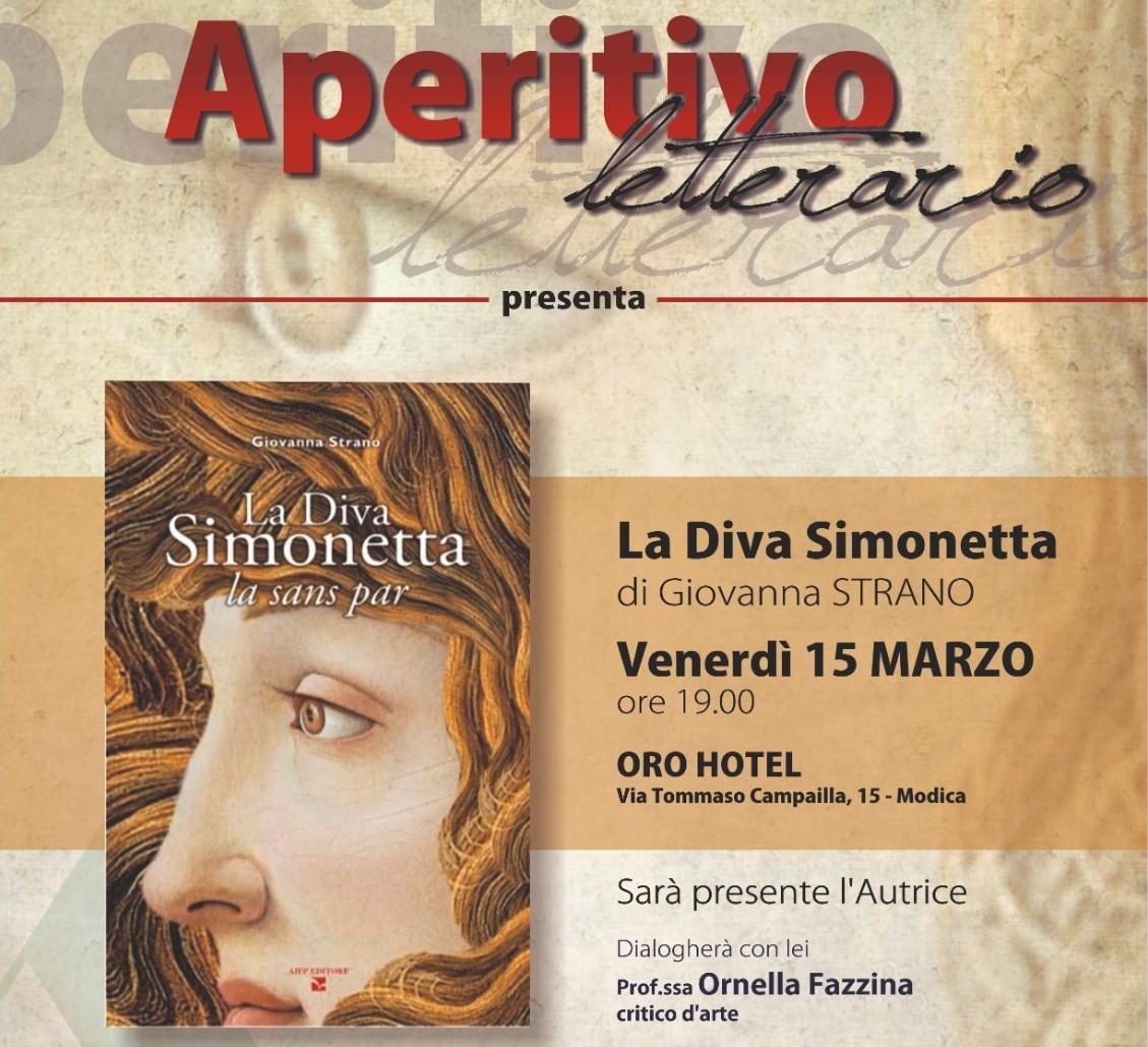 """Modica, venerdì 15 si presenta il romanzo storico """"La Diva Simonetta"""""""
