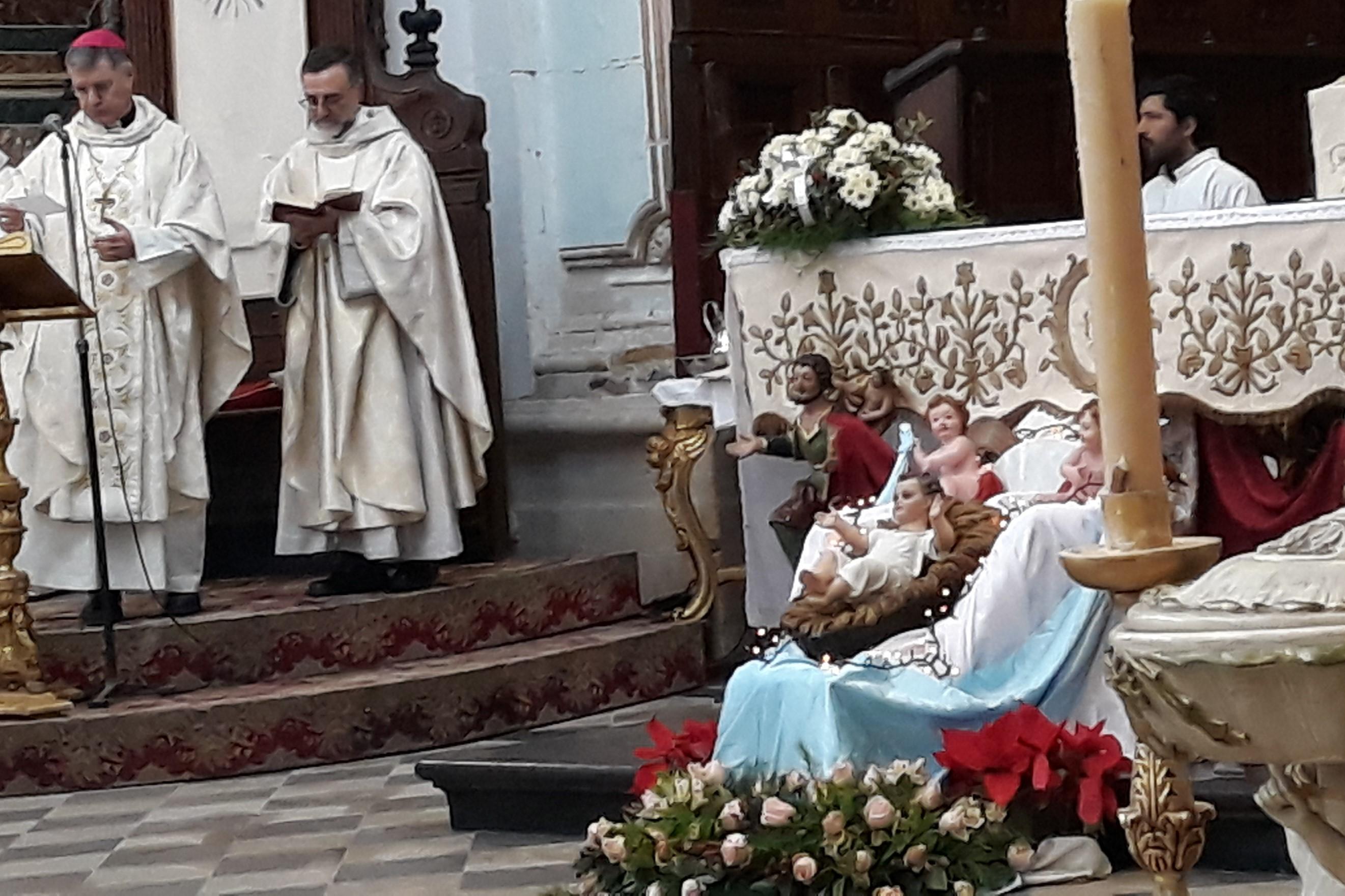 Modica, festa della Sacra Famiglia: l'Arcivescovo di Palermo celebra a San Pietro