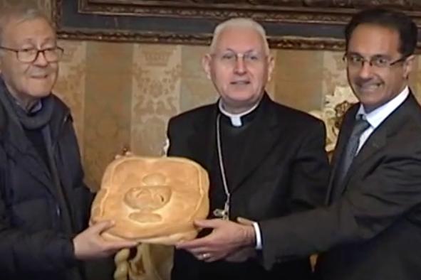 Siracusa, gli auguri di Pasqua dell'arcivescovo e il bilancio delle visite pastorali