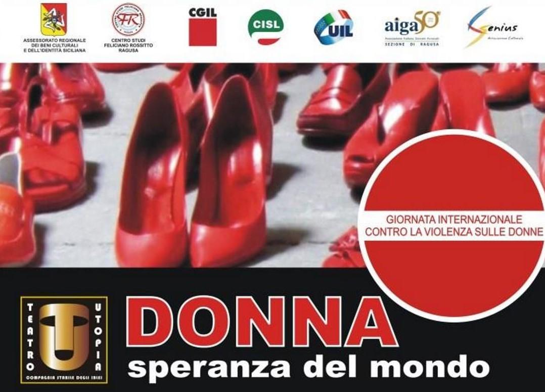 """Ragusa, al Feliciano Rossitto recital """"Donna speranza del mondo"""""""