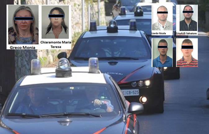 """Donne d'onore"", operazione antimafia a Gela: perquisizioni e 6 arresti"