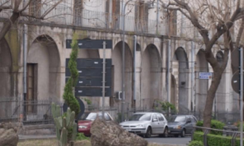 Dopo la sassaiola, lavori di ripristino al PTA di Adrano