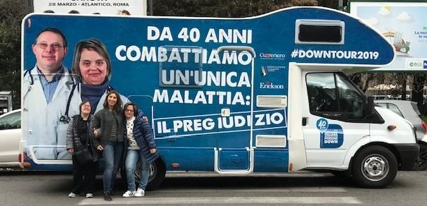 'Down Tour', il camper dell'inclusione domenica fa tappa a Siracusa
