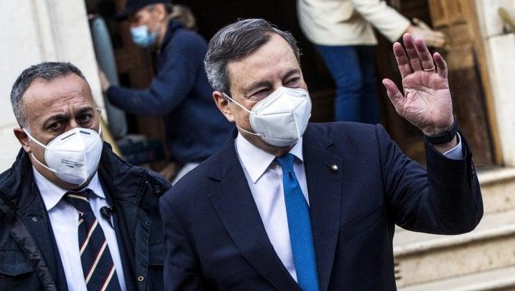 Draghi prepara la squadra, attesa dei partiti