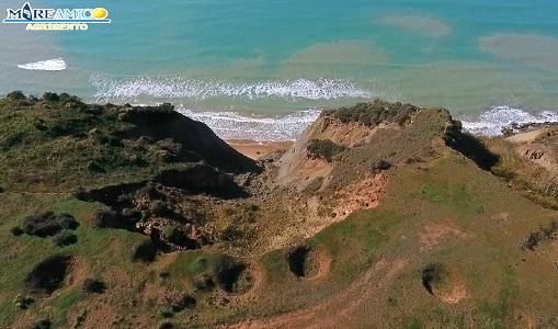 Agrigento, Mare Amico: la collina di Drasy si sgretola