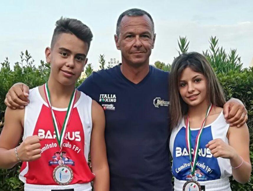 Baby pugili di Siracusa sul podio ai campionati giovanili in Emilia Romagna