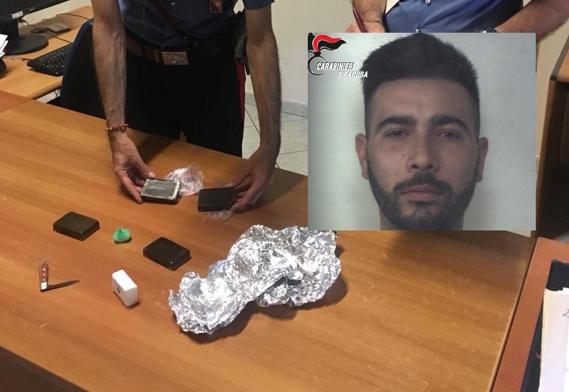 Beccati con droga pronta allo spaccio, due arresti a Siracusa