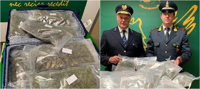 Dalla Spagna a Catania con 6,5 chili di marijuana: preso all'aeroporto