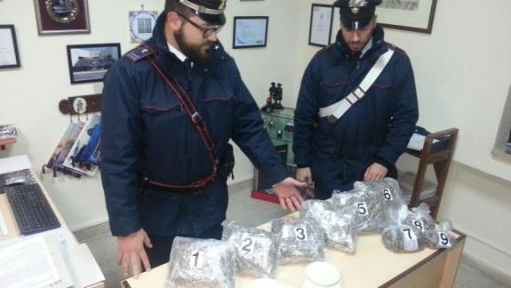 Roccalumera, pensionato arrestato con quattro chili di droga