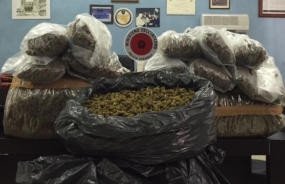Catanese preso sulla Palermo -Catania con 36 chili di marijuana