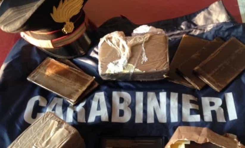 Nascondeva in garage 34 chili di droga: arrestato nel Padovano