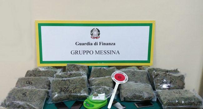 Traffico di droga, cinque arresti della Guardia di finanza a Messina