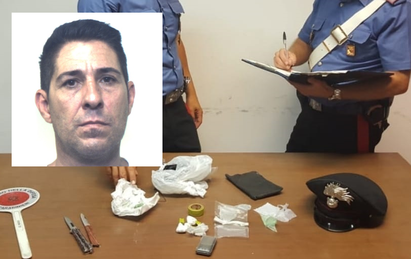 Droga, nasconde cocina in garage: una persona arrestata ad Augusta