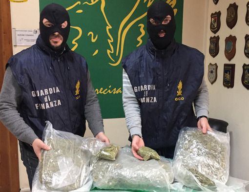 Nel Tir con sei chili di marijuana: arrestato 'corriere' di Caltagirone