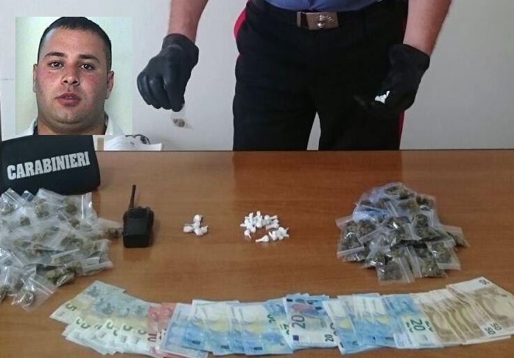 Catania, vendeva bustine di droga in via Capo Passero: arrestato