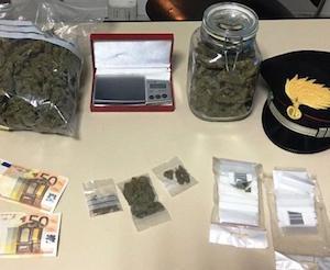 Catania, sorpreso in casa a confezionare droga: in manette un 27enne