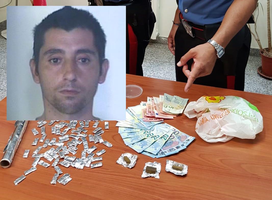 Floridia, trovato con 97 dosi di droga: arrestato