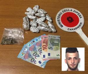 Catania, spacciava droga a San Cristoforo: arrestato presunto pusher