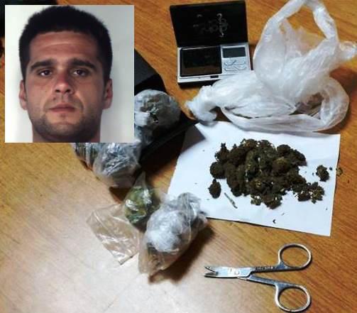 Catania, consegna droga a domicilio: arrestato a Picanello