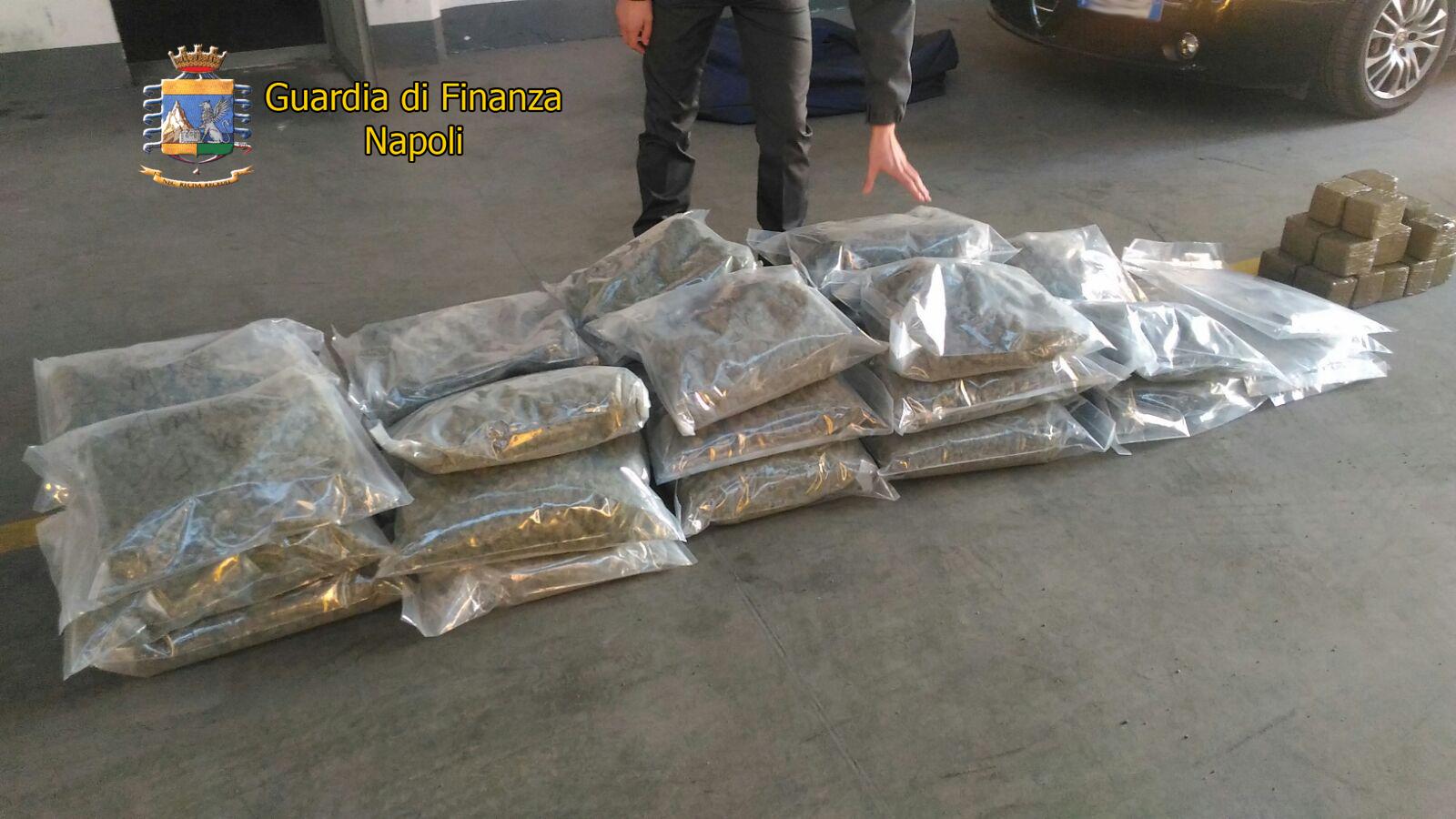 Medico arrestato a Castellammare di Stabia con 50 chili di droga