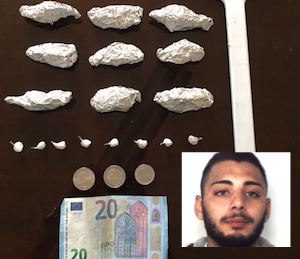 Catania, spacciava droga a San Cristoforo: arrestato presunto pusher